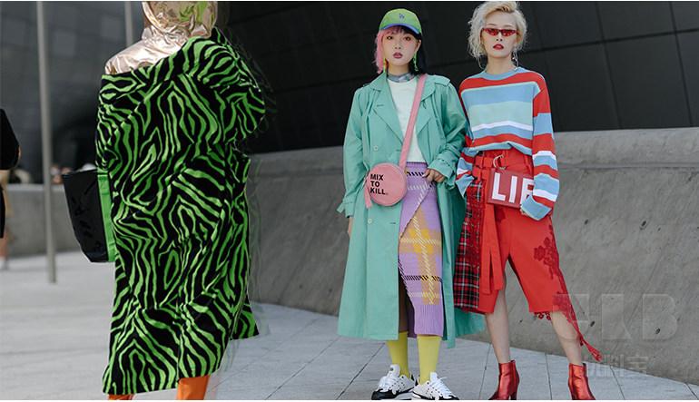都市新青年  2019春夏女装街拍面料分析