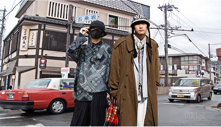 及时行乐--男装街拍面料综合分析