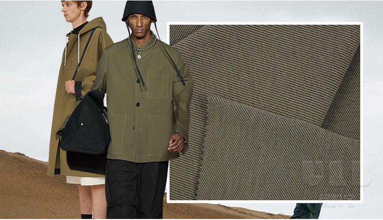 温润质朴--男装棉纺面料趋势